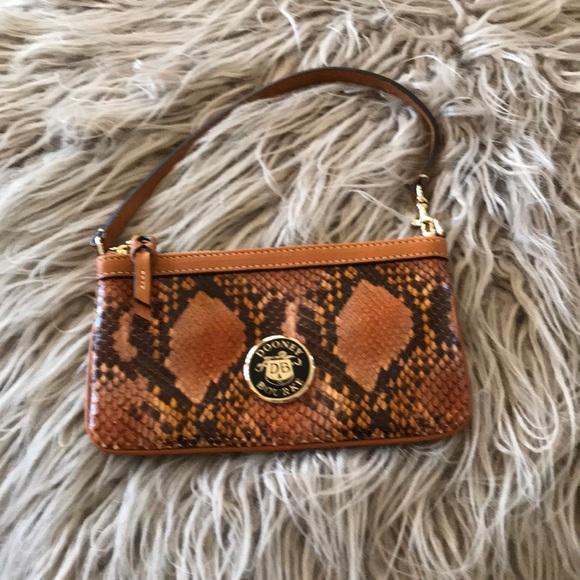 Dooney & Bourke Handbags - Downey & Bourne Clutch - snake skin (New)